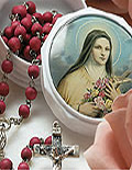 Rose Petal Rosaries