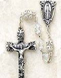 Sterling Silver Rosary Beads & Necklaces
