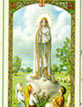 Cromo Catholic prayer cards