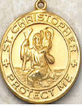 Patron Saint Christopher Medals