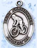 Patron Saint Leisure Sports Medals