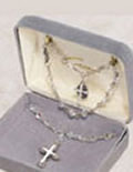 First Communion Necklace & Bracelet Sets