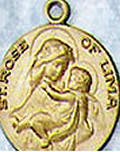 Patron Saint Medals Q, R, and S