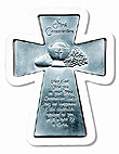 Communion Pewter Wall Cross