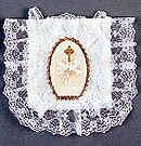 First Communion Dove Lacy Purse