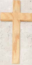 12 inch Oak Cross Thick