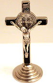 "3"" St Benedict Table Cross"