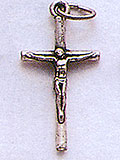 Small Metal Crucifix, simple