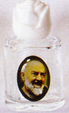 Padre Pio Holy Water Bottle - Without Water