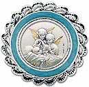 Crib Medal Blue - Guardian Angels