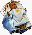 Baby Jesus in the Manger Doll