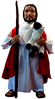 Jesus the Good Shepherd Doll