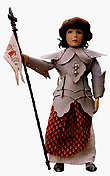 Saint Joan of Arc Doll