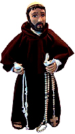 Saint Francis of Assisi Doll