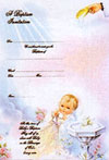 12 Baptism Invitations