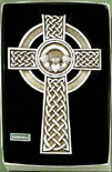Fine Pewter Celtic Wall Cross