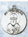 St Nicholas Sterling Silver Medal