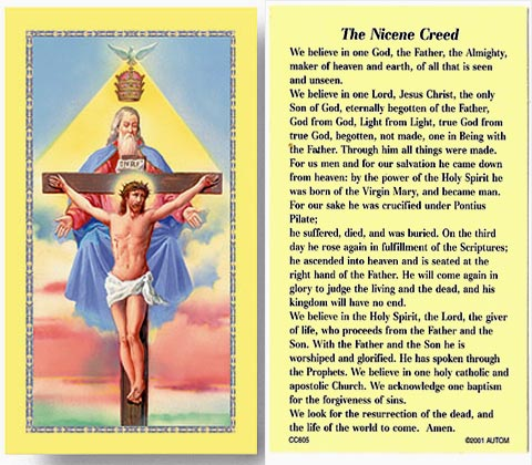 the nicene creed essay Online essay help christian beliefs: the nicene creed you are here: home sociology & philosophy christian beliefs: the nicene creed.