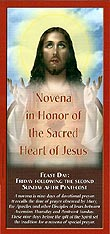 Novena in Honor of the Sacred Heart