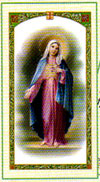 Hail Mary Laminated Prayer Card