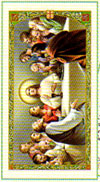 Apostles' Creed Laminated Prayer Card