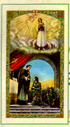 Saint Joan of Arc Laminated Prayer Card