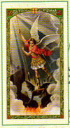 Saint Michael Laminated Prayer Card
