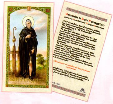 Oracion A San Peregrino