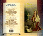 St. Mary Biography Prayer Card