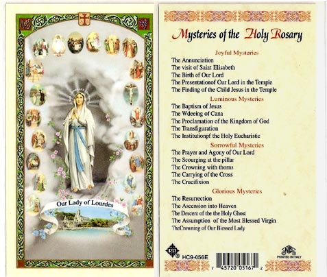 available discounts prayer cards buy at least 25 save $ 0 12 each buy ...