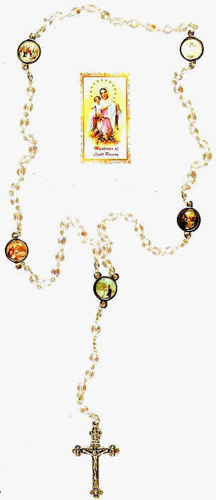 5 Mysteries Rosary - Mysteries of Light