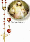 Divine Mercy Red Beads Rosary