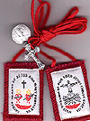 Red Passion Wool Scapular