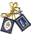 Blue Immaculate Conception Wool Scapular