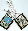 Our Lady of Lourdes Scapular - White Cord