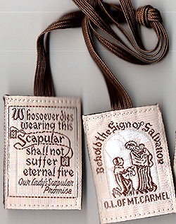 Brown Scapular of Our Lady of Mount Carmel