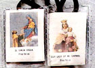 Our Lady of Mt Carmel Scapular - Brown Cord