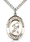 Soccer Sterling Silver Sports Medal