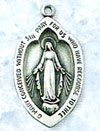 Shield Sterling Silver Miraculous Medal