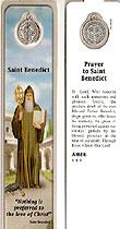 St Benedict Laminated Bookmark
