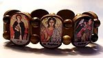 7 Archangels Color Wood Bracelet