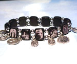 Devotional Charm Bracelet in Sepia
