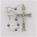 4 mm Genuine Hematite Rosary