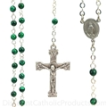 4 mm Genuine Malachite Rosary