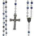 4 mm Genuine Sodalite Rosary
