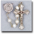 6 mm Genuine Fresh Water Pearl-White Rosary