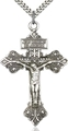 2-Inch Pardon Crucifix Pendant -  Silver or Gold