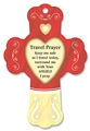 Travel Prayer - Cinnamon Apple Heart Fresheners Cross