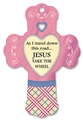 Jesus Take The Wheel - Cotton Heart Fresheners Cross