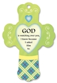 God Watch Over - Citrus/Sage Heart Fresheners Cross